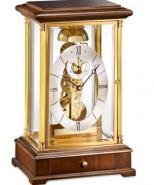 Kieninger 1278-23-01 Domino Skeleton Mantel Clock, Passing Bell Strike, Walnut
