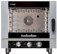 Turbofan Electric Combi Oven 5 Tray 1/1 GN - Manual Control EC40M5