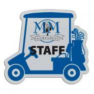 Golf Cart Badge 3  x 2-3/4